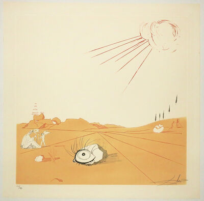 Salvador Dalí, 'Espace paysage. ', 1968-1980.