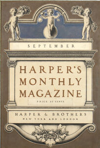 Maxfield Parrish, 'Harper's Monthly Magazine Cover', 1900