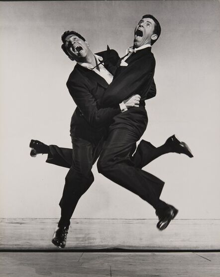Philippe Halsman, 'Dean Martin and Jerry Lewis', 1951