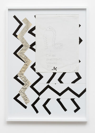 Zin Taylor, 'The hiss of a snake, the sound of a form', 2014