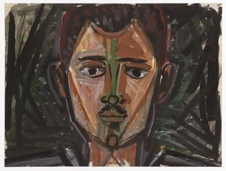 John Craxton, 'Head of a Man', ca. 1960