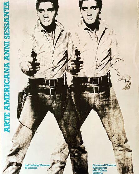 "Andy Warhol, '""Double Elvis,"" Arte Americana Anni Sessanta', 1987"