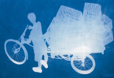 Zhang Dali, 'Delivery Bicyle', 2011