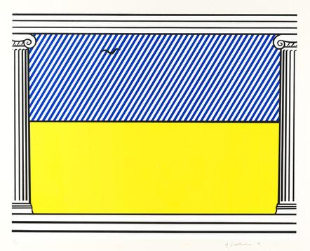 Roy Lichtenstein, 'Liberté, from Mémoire de la Liberté (C. 259)', 1991