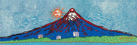 Yayoi Kusama, 'Mt. Fuji in Seven Colours / 七色の富士', 2015