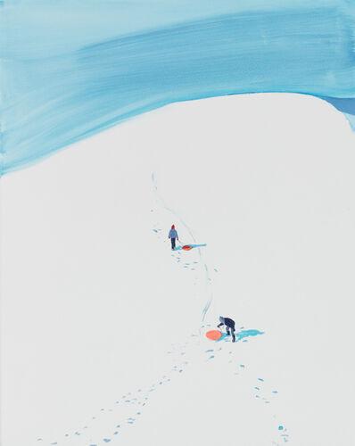 Sebastian Blanck, 'Two Orange Sleds', 2017