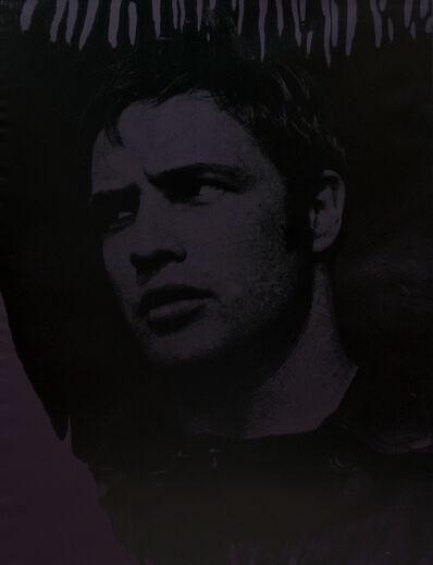 Russell Young, 'Death of A Disco Dancer (Marlon Brando, Dark Purple)', 2007