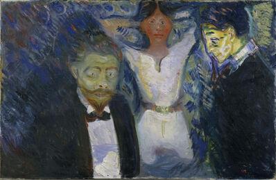 Edvard Munch, 'Jealousy', 1913