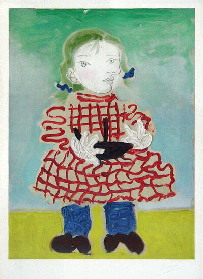 Pablo Picasso, 'Maya au Pinafore', 1956
