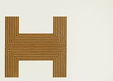 Frank Stella, 'Pagosa Springs', 1970