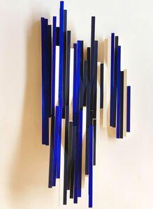 Cecilia Biagini, 'Pianoforte on blue', 2018