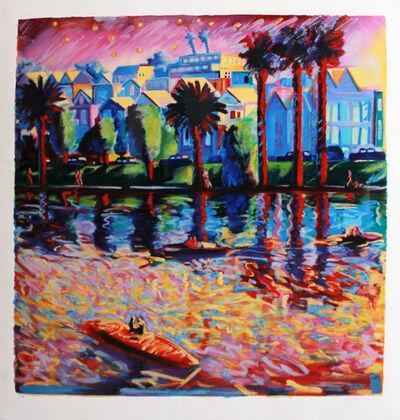 Carlos Almaraz, 'Echo Park Three', 1990