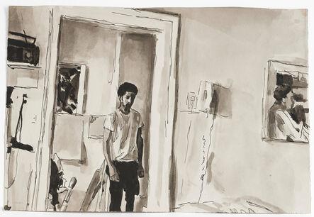 Darrel Ellis, 'Untitled (The Artist in his Apartment)', ca. 1991