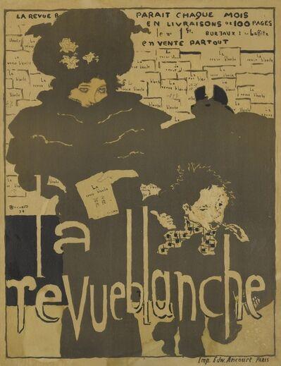 Pierre Bonnard, 'La revue blanche; and Les peintres graveurs (Bouvet 30 & 38)', 1894 and 1896