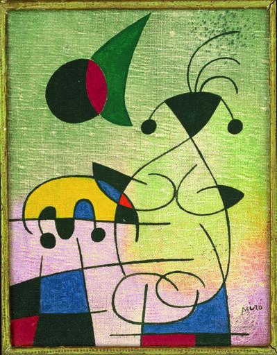 Joan Miró, 'L'étreinte du soleil à l'amoureuse (The Sun Embracing the Lover)', 1952