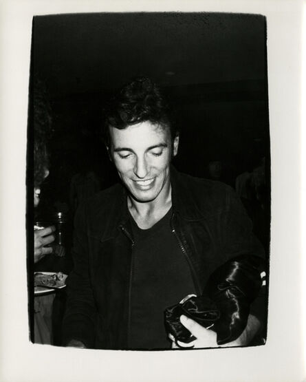 Andy Warhol, 'Andy Warhol, Photograph of Bruce Springsteen, 1978', 1978