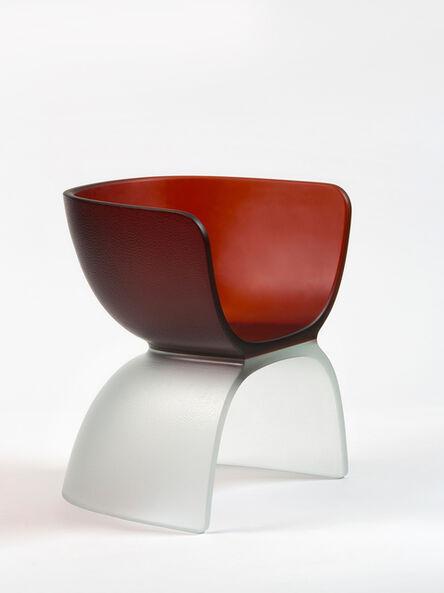 Marc Newson, 'Dark Orange Glass Chair', 2017