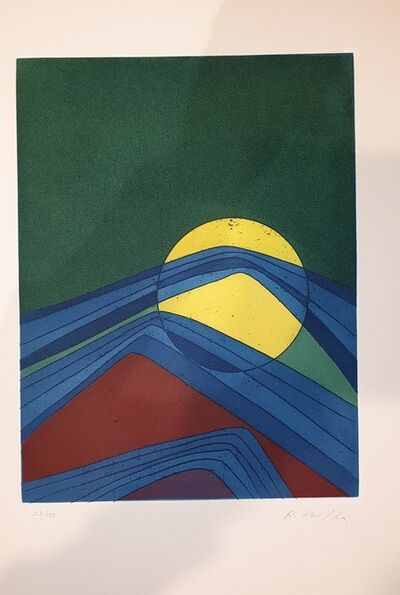 Roberto Crippa, 'Plate II from Suns/Landscapes', 1970's