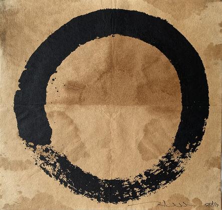 Takashi Murakami, 'Coffee Zen Enso: Black', 2020
