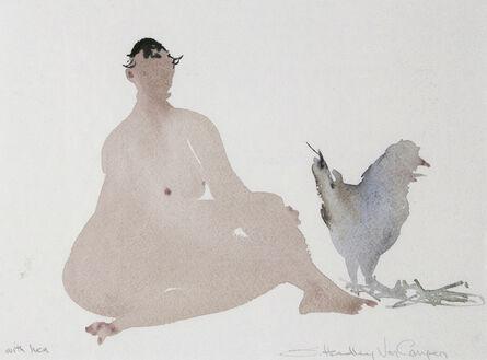 Susan Headley Van Campen, 'With Hen'