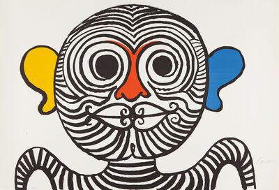Alexander Calder, 'Nez et oreilles très gais (Very Gay Nose and Ears)', 1969