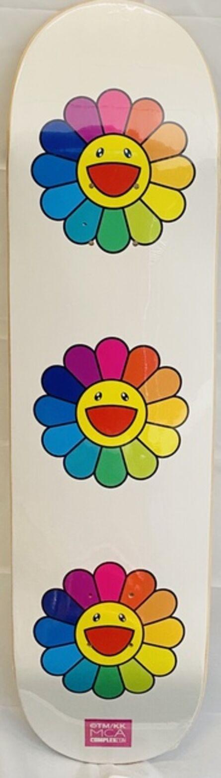 Takashi Murakami, 'Murakami Flowers Skateboard Deck', 2017