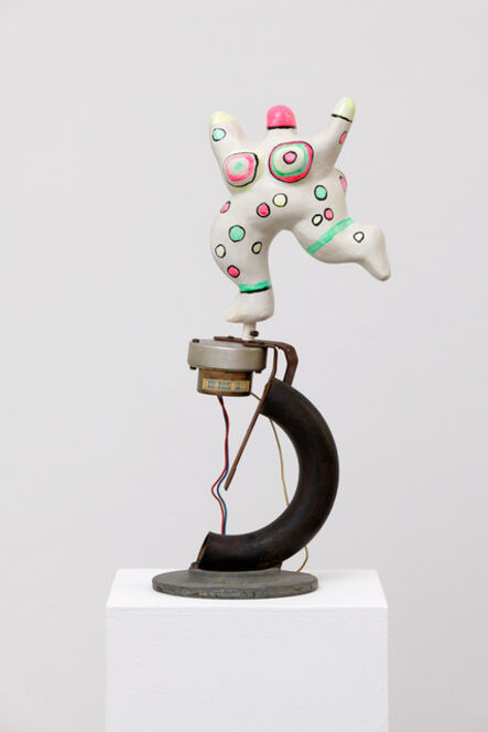 Niki de Saint Phalle, 'Nana Machine (socle de Jean Tinguely)', 1976