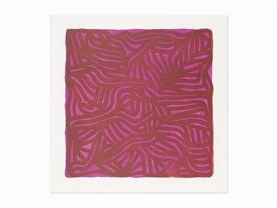 Sol LeWitt, 'Untitled (Purple)', 2004