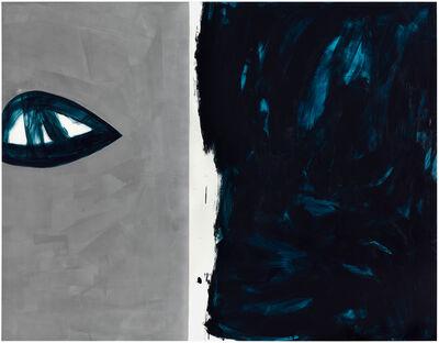 """Otto Zitko, '""""Der Tod das ist die kühle Nacht,..."""" (Heinrich Heine)', 2020"""