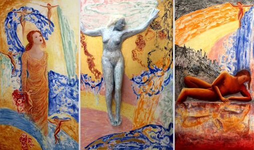 Michael Price, 'Resurrection Adventures No. 6, The Last Judgment, Echo and Narcissus.', 2020