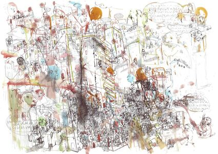 Ceren Oykut, 'Inside the City Walls - Space', 2013