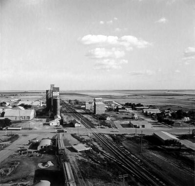 Frank Gohlke, 'View from Harmon-Toles elevator, Happy, Texas', 1975