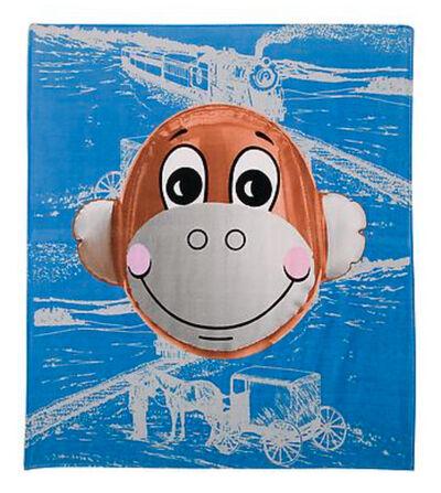 "Jeff Koons, '""Balloon Monkey beach towel', 2008"