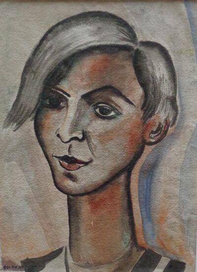 Rolph Scarlett, 'Portrait of Young Man', ca. 1920