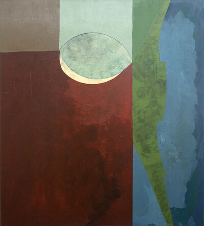 Otto Rogers, 'Single Leaf with Red', 2018-19