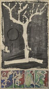Pierre Alechinsky, 'Arbre de démonstration dit La Marouflette', 1996