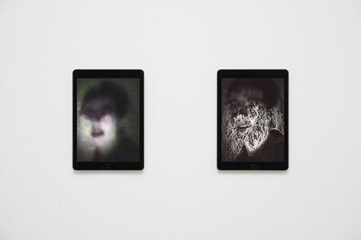 Massimo Grimaldi, 'Portraits, Shown on Two Apple iPad Air 2s', 2014