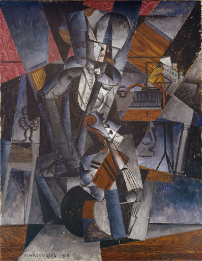 Louis Marcoussis, 'The Musician', 1914