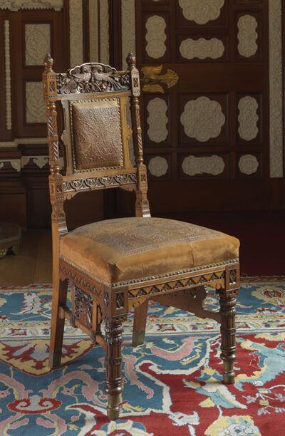Bhai Ram Singh, 'Chair for the Durbar Hall, Osborne', ca. 1892