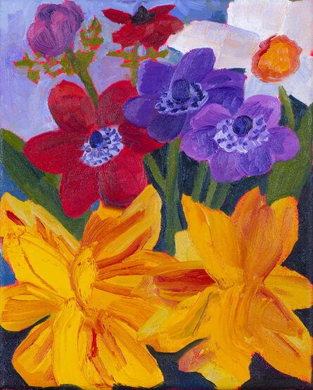 Anna Valdez, 'Garden Flowers Study', 2017