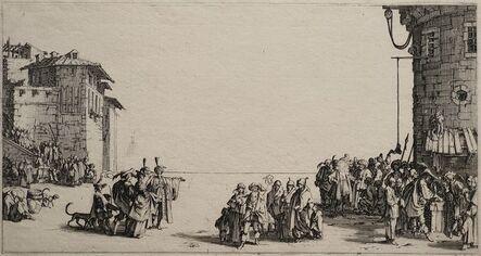 Jacques Callot, 'Le Marché d'Esclaves, 1st state ', 1619-1629
