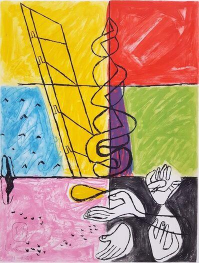 Le Corbusier, 'Unité, Planche 8, (Set of 2)', 1965