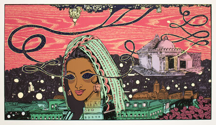 Chitra Ganesh, 'Architects of the Future - City Inside Her', 2014