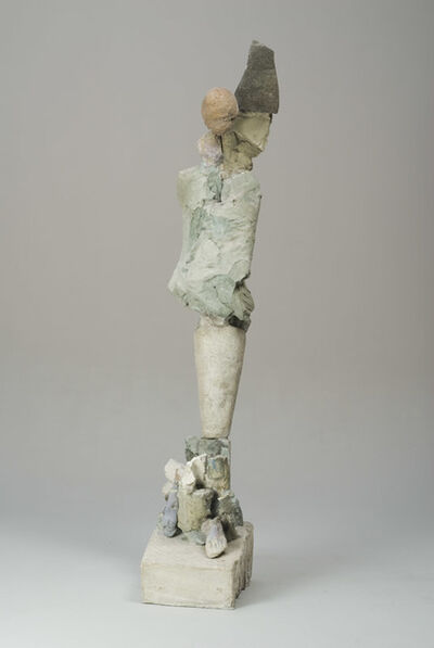 Stephen De Staebler, 'Figure with Black Wing', 2008