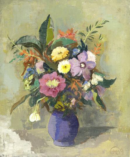 Karl Hofer, 'Blumen in Vase', 1939