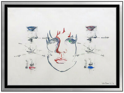 Larry Rivers, 'Diane Raised IV', 1970-1980