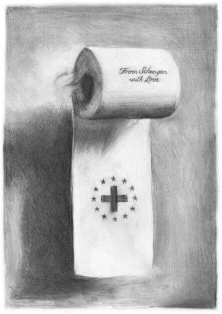 Filip Markiewicz, 'From Schengen with Love (after Gerhard Richter)', 2020