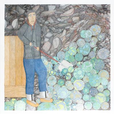 Shuvinai Ashoona, 'Shuvelling Worlds', 2013