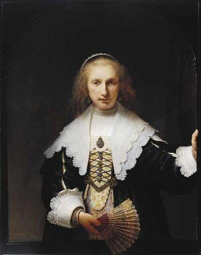 Rembrandt van Rijn, 'Agatha Bas', 1641