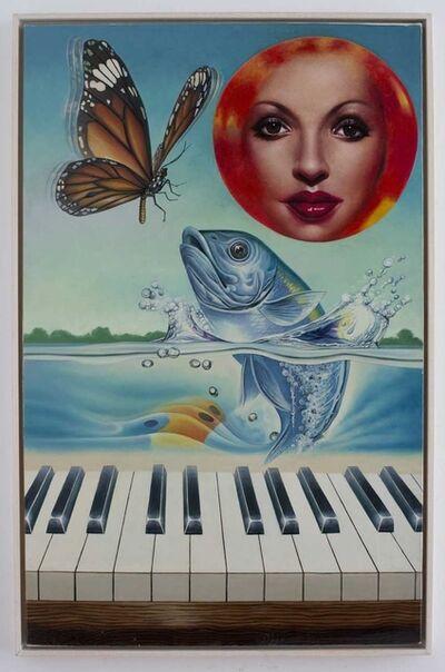 Erró, 'La Truite de Schubert or Sonate for Piano and Fish', 1983